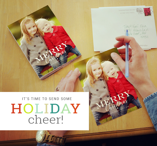 Send Holiday Card Cheer